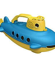 cheap -(submarine in yellow blue - bpa free, phthalate free, bath toy with spinning rear propeller. safe toys for toddlers, babies - 3 pack
