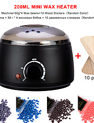 cheap -Hair Removal Wax-melt Machine Heater Wax Beans 10 Wood Stickers Hair Removal Machine Waxing Kit Calentador de cera