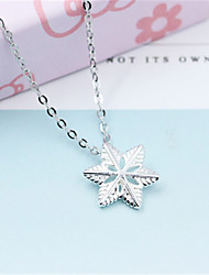 cheap -Pendant Necklace Women's Classic life Tree Classic Cute Silver Silver 4 45 cm Necklace Jewelry 1pc for Daily