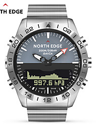 cheap -NORTH EDGE GAVIA 2 Men Dive Sports Digital watch Mens Watches Military Army Luxury Full Steel Business Waterproof 200m Altimeter Compass