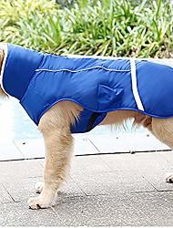 cheap -winter fashion pet dog jacket coats, harness hole/warm/flexible/wearable, dogs vest clothing (s-3xl),blue,xl