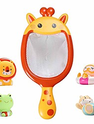 cheap -bath toys bathtub toys with spoon-net for 1 2 3 year old kids, bpa-free burr-free edges non-toxic, birthday gift ideas color box (a)