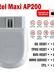cheap -Autel MaxiAP AP200 Bluetooth OBD2 Code Reader with Full System Diagnoses AutoVIN TPMS IMMO Service for DIYers Simplified Edition of MK808