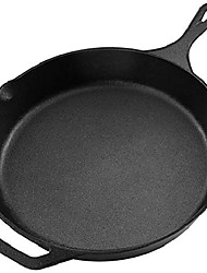 cheap -pre-seasoned cast iron skillet - (1, 12.5 inch)