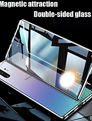 cheap -Case For Samsung Galaxy Note20 Ultra/Note8/9/10 Plus/S20 Plus/S8/9/10 Lite/A71/A81/A91/A51/A11/A20/M31/A50S/A70/A20 Shockproof / Flip / Transparent Full Body Cases Transparent Tempered Glass / Metal