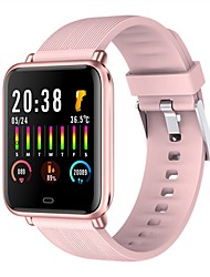 cheap -Q9T Unisex Smartwatch Bluetooth Heart Rate Monitor Blood Pressure Measurement Calories Burned Thermometer Health Care Pedometer Call Reminder Sedentary Reminder Find My Device Alarm Clock