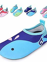 cheap -kids mutifunctional barefoot quick-dry water shoes lightweight aqua socks for swim beach pool surf yoga exercise,dolphin, xl