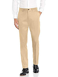 cheap -amazon brand - men's athletic fit non-iron dress chino pant, wheat 32w x 34l