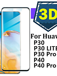 cheap -For Glass Huawei P40 Pro P30 Lite Tempered Glass Full Cover Protective Glass Screen Protetor for Huawei P40 For Huawei P40  P30 Pro Glass