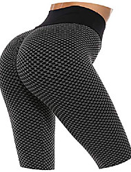 cheap -women's ruched butt lifting leggings sexy high waist yoga pants slimming tummy control workout tights