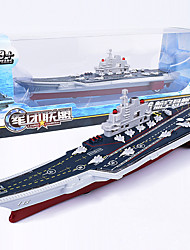 cheap -Aircraft Carrier Model Cartoon Simulation Music & Light Zinc Alloy Plastic Shell Kid's Adults All Toy Gift