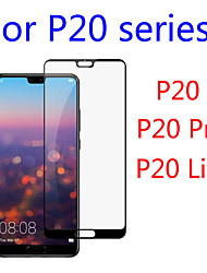 cheap -For Huawei P20 P20 Lite Honor 10 Protective Screen Protector Original Real 2.5D 9H Black 3D Full Cover Tempered Glass