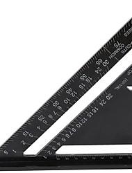 cheap -Aluminum Alloy Triangle Rulers Metric Triangle Ruler Black Triangular Ruler
