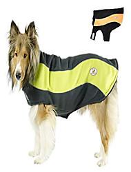 cheap -cutenfuzzy adjustable double layer polar fleece dog reflective adventure coat