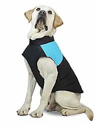 رخيصةأون -ماء الكلب الملابس الشتوية معطف دافئ الحيوانات الأليفة سترة سترة الدنيم