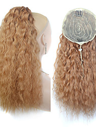 cheap -Clip In / On Hair Piece Party / Women / Easy dressing Synthetic Hair Hair Piece Hair Extension Curly 22 inch Date / Street / Birthday Party
