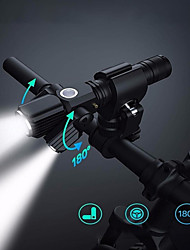 cheap -LED Bike Light Front Bike Light Headlight Bicycle Cycling Waterproof Multiple Modes Super Bright New Design White