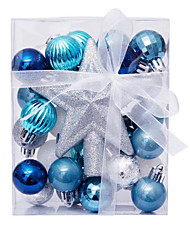 cheap -30 Pcs Christmas Balls Ornaments for Xmas Tree - Shatterproof Christmas Tree Decorations Hanging