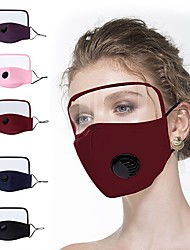 cheap -1 Pc Protective Masks Pure Cotton Mask Thin Cotton Protective One-piece Mask Full Face Screen Face Protection Eye Protection Cotton Mask