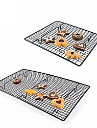 cheap -Nonstick Cake Cooling Rack Net Metal Cookies Biscuits Bread Muffins Drying Stand Cooler Holder Kitchen Baking Tools