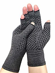 cheap -compression arthritis gloves with grips fingerless compression gloves for arthritis hands for women open finger compression gloves for arthritic pain relief