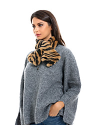 cheap -Women's Active Infinity Scarf - Striped Washable