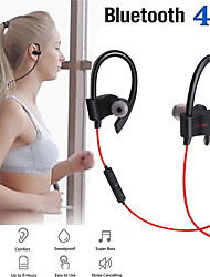 cheap -Bluetooth Earphone Neckband Wireless Headphones In-ear Bass Stereo Earbuds Sport Running Headsets With Mic For Mobile Phone