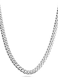 cheap -miabella solid 925 sterling silver italian 5mm diamond cut cuban link curb chain necklace for women men, 16, 18, 20, 22, 24, 26, 30 inch made in italy (22)