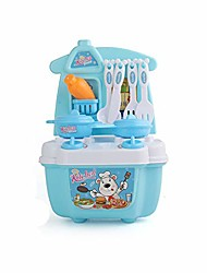 cheap -unisex boys girls new children play kitchen set education toys kids pretend toy cooking food (blue)