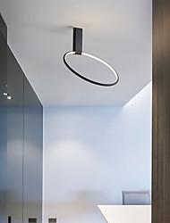 cheap -40 cm Adjustable LED Round Ceiling Light Gold Black Designer Minimalist Art Front Desk Conference Room Business Building Restaurant Clothing Store