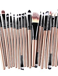 cheap -20-piece makeup brushes makeup brush set cosmetics foundation blending blush eyeliner concealer face powder brush