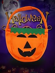 cheap -2 Pcs Halloween Decorations Halloween Hanging Pumpkin Sugar Bag Decorations