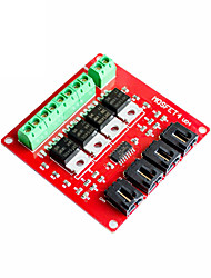 cheap -Electronic Building Block 4-way Switch Mosfet Switch Irf540 Isolated Power Module