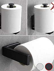 cheap -Toilet Paper Holder Bathroom Tissue Holder SUS 304 Stainless Steel 1pc - Punchable or Pasteable Bathroom Wall Mounted