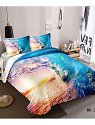 cheap -Abstract Series 3D Digital Print 3 Pieces Bedding Set Duvet Cover Set Modern Comforter Cover Ultra Soft Hypoallergenic Microfiber and Easy Care(Include 1 Duvet Cover and 1 or2 Pillowcases)