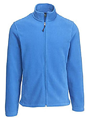 cheap -men's andes ii fleece jacket, cool blue, large