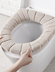 cheap -Toilet Seat Cover Warm Soft Washable Mat Home Decor Closestool Mat Seat Case Toilet Lid Cover Accessories Bathroom Home
