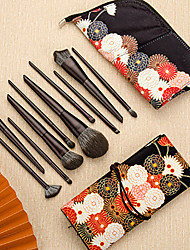 cheap -10 Pcs Makeup Brush Set Makeup Brush Tool Eyeshadow Brush Concealer Portable Paint Brush Brush Set