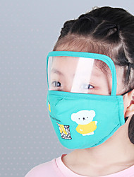 cheap -Children's Cotton Cartoon Mask Protective Visual Anti-fog Integrated Face Mask Child Protective Mouth