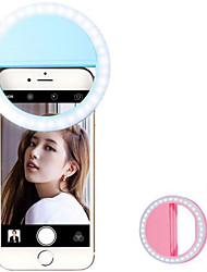 cheap -Selfie Ring Light with 36 LED for Phone Tablet iPad Camera Portable Clip-on Fill Round Shape Light-White