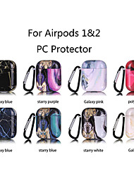 cheap -Case For AirPods Shockproof Cool Color Gradient Headphone Case Hard