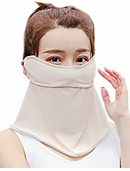 cheap -grefer 2 in 1 breathable ice silk sunscreen dust face scarf - motorcycle sunscreen neck gaiter for women