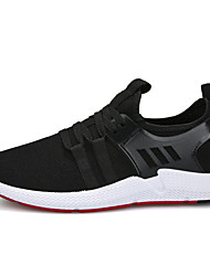 cheap -Men's Trainers Athletic Shoes Athletic Running Shoes Mesh White Black Fall Spring