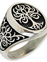cheap -tree of life 925 sterling silver turkish jewelry men ring (10.5)