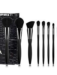 cheap -Explosive Style 9 Sexy Waistline Black Bottom Diamond Diamond Makeup Brush Set Beauty