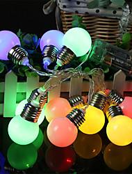 cheap -LED Bulb Light String Christmas Living Room Fairy Lights Battery Power Supply Outdoor Garden Led Garland Decoration