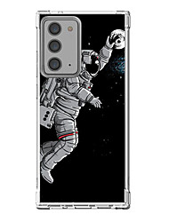 cheap -Astronaut Case For Samsung Galaxy S21 Galaxy S21 Plus Galaxy S21 Ultra Unique Design Protective Case Shockproof Back Cover TPU