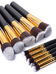 cheap -(tm) high professional cosmetics brush women practical powder brushes soft cosmetic makeup brushes toiletry 10 pcs/set