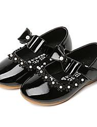 cheap -girls mary janes ballet flat bowknot strap anti slip princess dress shoes (toddler/little kid) black