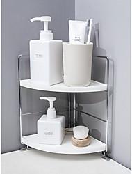 cheap -Bathroom Shelf Toilet Washstand Non Perforated Wall Mounted Triangle Storage Bath Storage Rack